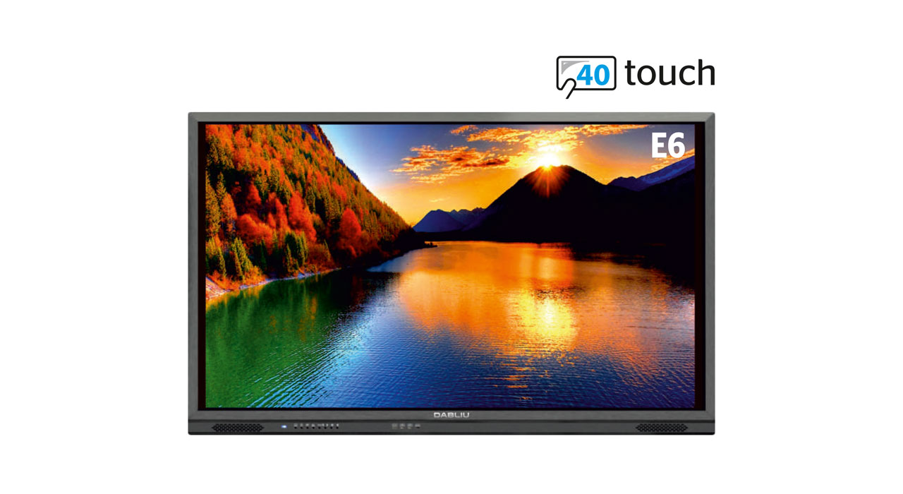 Interactive Touch Screen WeTouch E6 40T