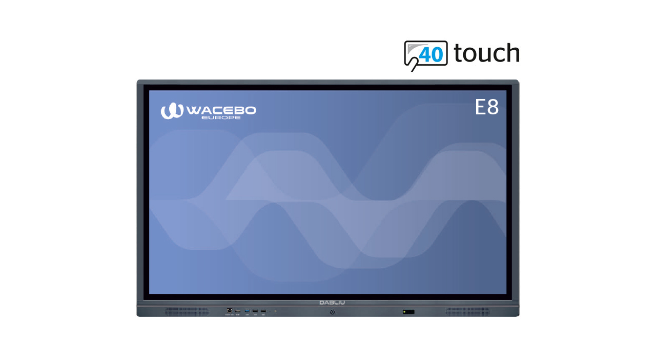 Interactive Touch Screen WeTouch E8 40T